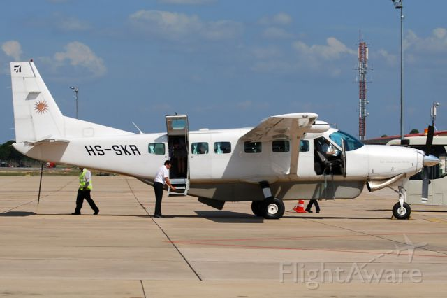 HS-SKR — - First photograph taken at Siem Reap Airport in Cambodia in the database