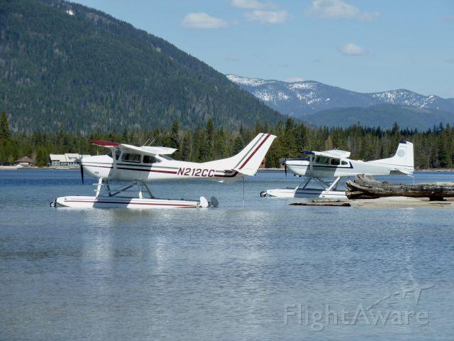 Cessna Skylane (N212CC) - Priest Lake Idaho