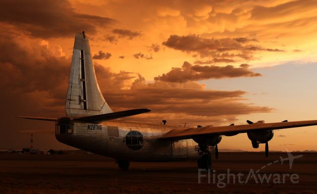 CONVAIR Privateer (N2871G) - Storm is coming....