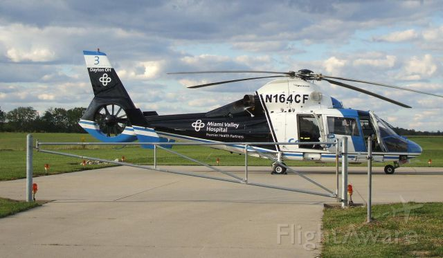 VOUGHT SA-366 Panther 800 (N164CF) - Miami Valley Hospital CARE FLIGHT (Dayton, OH area)