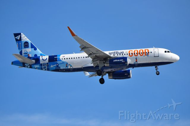 Airbus A320 (N809JB) - ORD 05-04-19