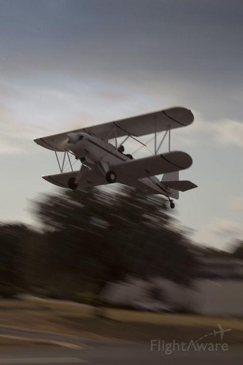 JAVELIN Wichawk (N95TE) - Instructor getting familiar with plane.  I start type/model/tailwheel tomorrow.