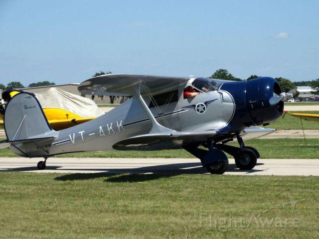 Beechcraft Staggerwing (N233EB) - 1938 beech E17B