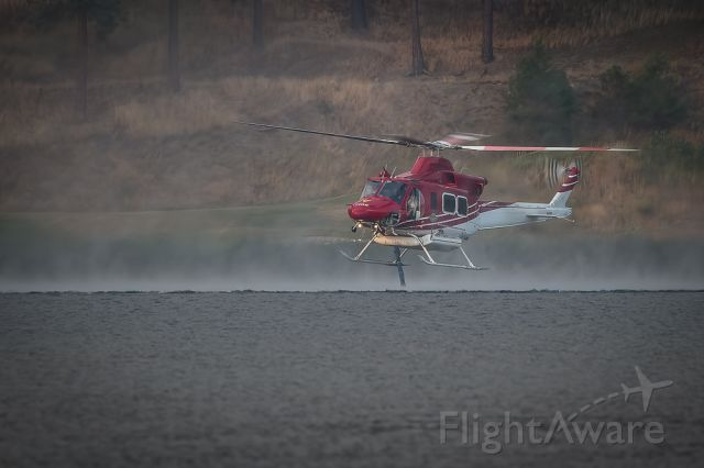 C-FWTK — - Loading...working the wildfire line.