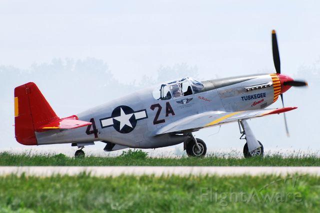 AMU61429 — - North American P-51C Mustang NX61429 (c/n 103-26199). Commemorative Air Force (CAF) Tuskegee Airmen Mustang. June 27, 2010.
