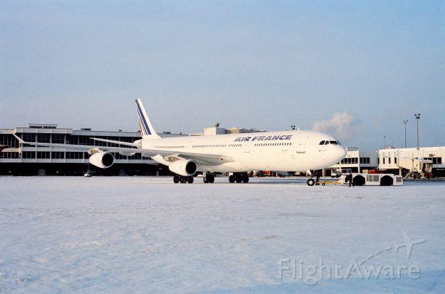 — — - A340 High Altitude Certification. Stapleton International Airport. Denver CO. 1992