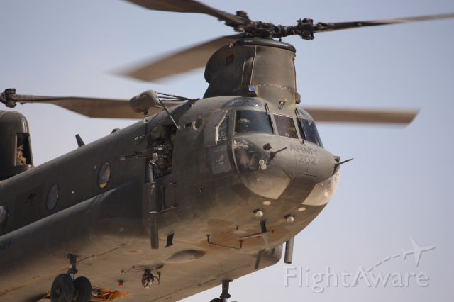 — — - US Army CH-47 Chinook
