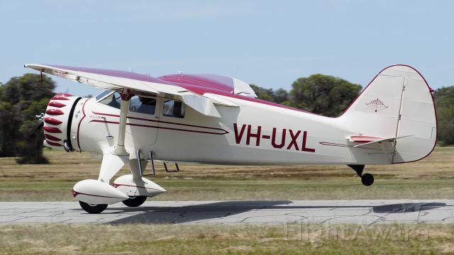 STINSON V-77 Reliant (VH-UXL) - Stinson SR-8C Reliant sn 9766 VH-XUL YSEN 25th October 2020