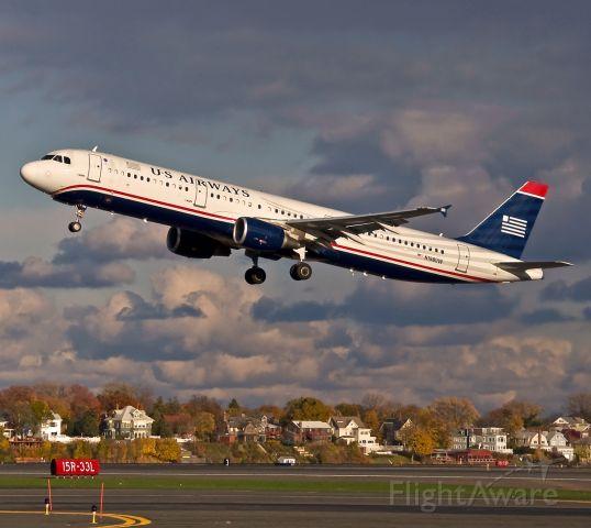 Airbus A321 (N198UW) - US Airways A321