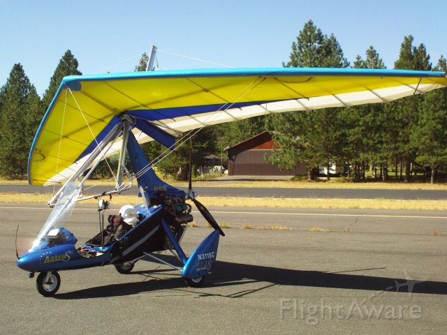 Experimental 100kts (N3115C) - Astra S2 - Experimental Light Sport Weight Shift Control - Trike with Rotax 912ULS 100 HP engine.  Photo taken at Sand Canyon (1S9), Chewelah, WA.  See videos at: a rel=nofollow href=http://youtu.be/voQGcLjnEPUhttp://youtu.be/voQGcLjnEPU/a and a rel=nofollow href=https://vimeo.com/36857340https://vimeo.com/36857340/a