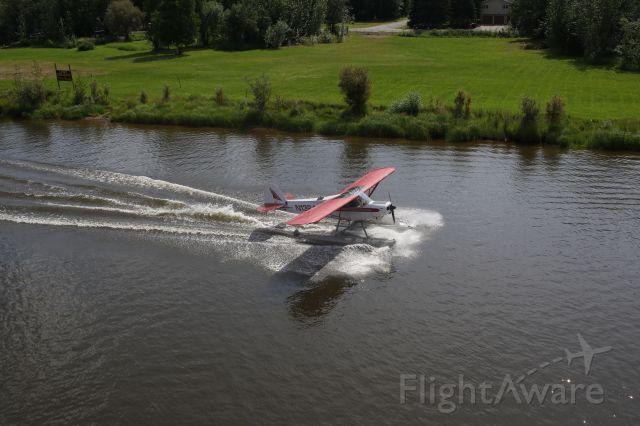 N1324A — - Landing on the Chena River Alaska