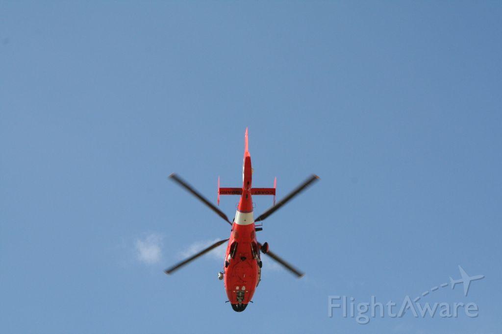 — — - TSTC WACO, Coast Guard HH-65 overflight prior to Presidents Arrival