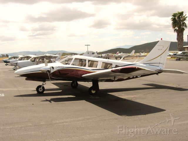 Piper Seneca (N55075) - PARKED AT FRENCH VALLEY