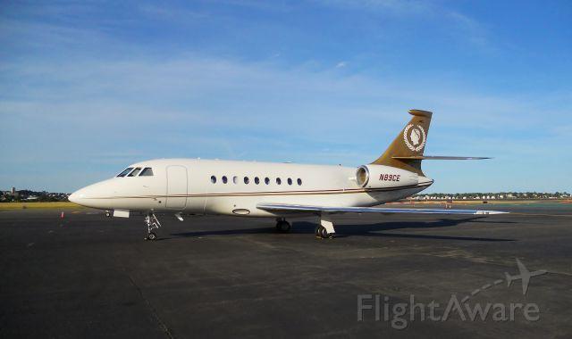 Dassault Falcon 2000 (N89CE) - Caesars Palace !