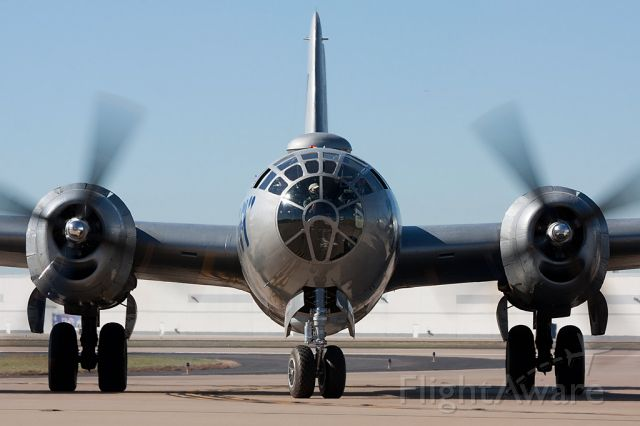 Boeing B-29 Superfortress (N529B) - FIFI arrives to the Fort Worth Alliance Airshow