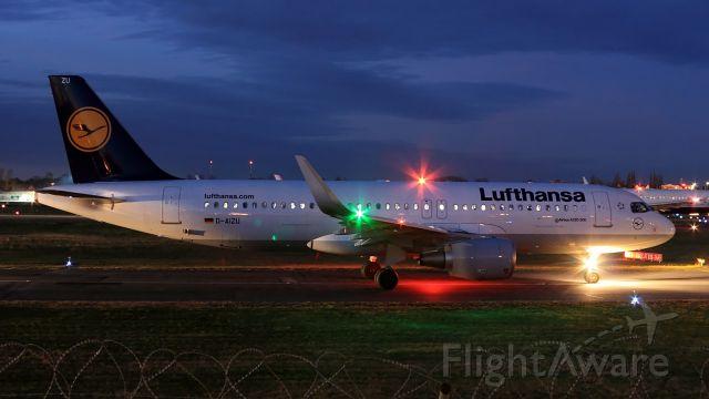 Airbus A320 (D-AIZU) - Sharklets