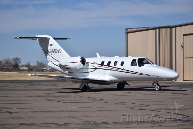 Cessna Citation CJ1 (N646VP) - She was posing for this.