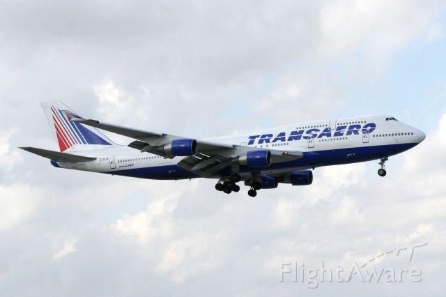 Boeing 747-400 (EI-XLM) - Short final 9, 3/3/12