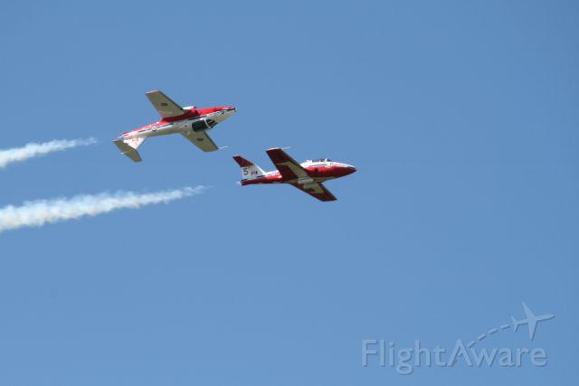 — — - RCAF Snowbirds