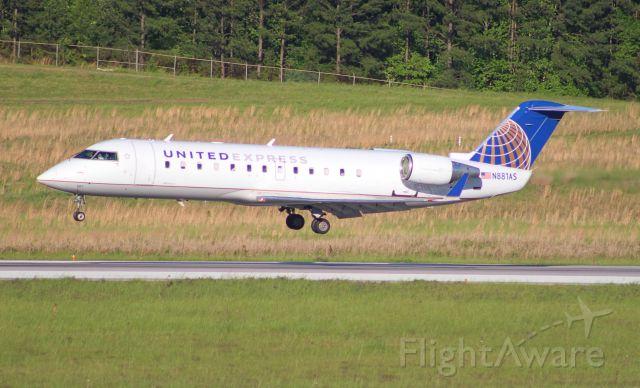Canadair Regional Jet CRJ-100 (N881AS)