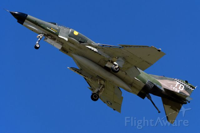 McDonnell Douglas F-4 Phantom 2 (72-1494) - Low, slow and dirty. LRAFB Airshow, September 2012