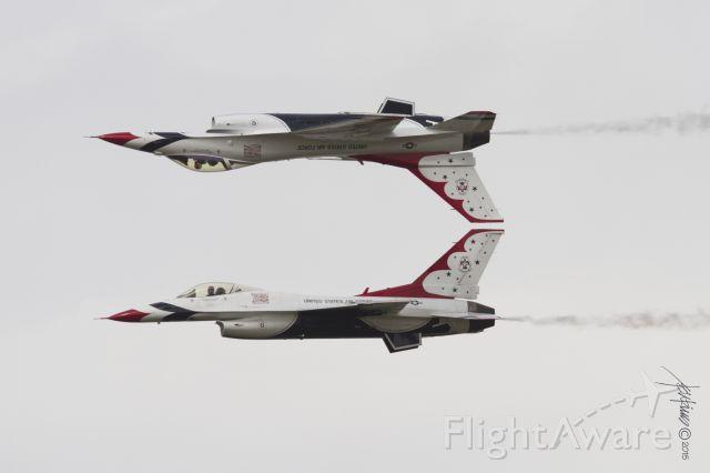 Lockheed F-16 Fighting Falcon — - From the Gulf Coast Salute, Tyndall AFB, Apr 11-12, 2015