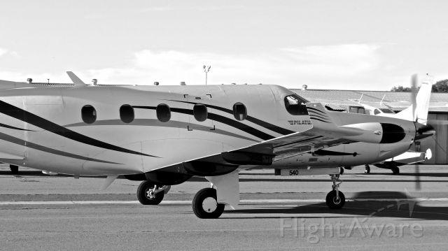 Pilatus PC-12 (N950KM) - Super Bowl visitor.