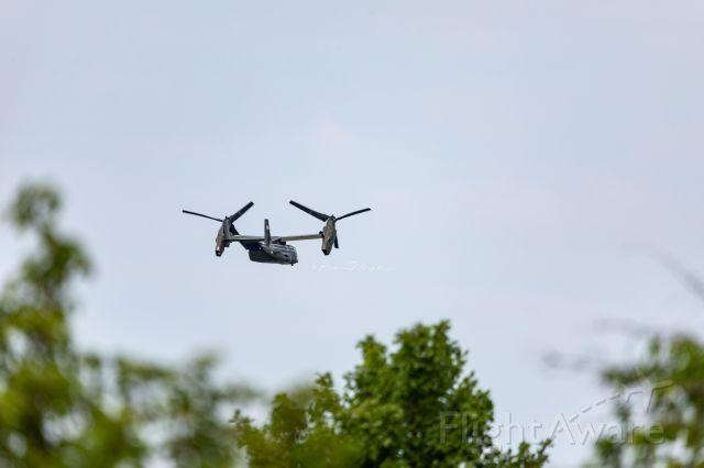 16-8284 — - A VM-22 Osprey of USMC HMX-1 departs KGRR