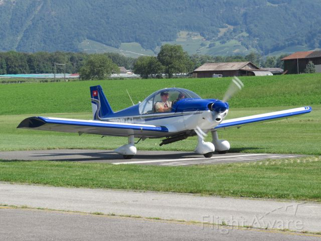 ROBIN R-200 (HB-KFA) - Robin HR200-160 at the run up spot.