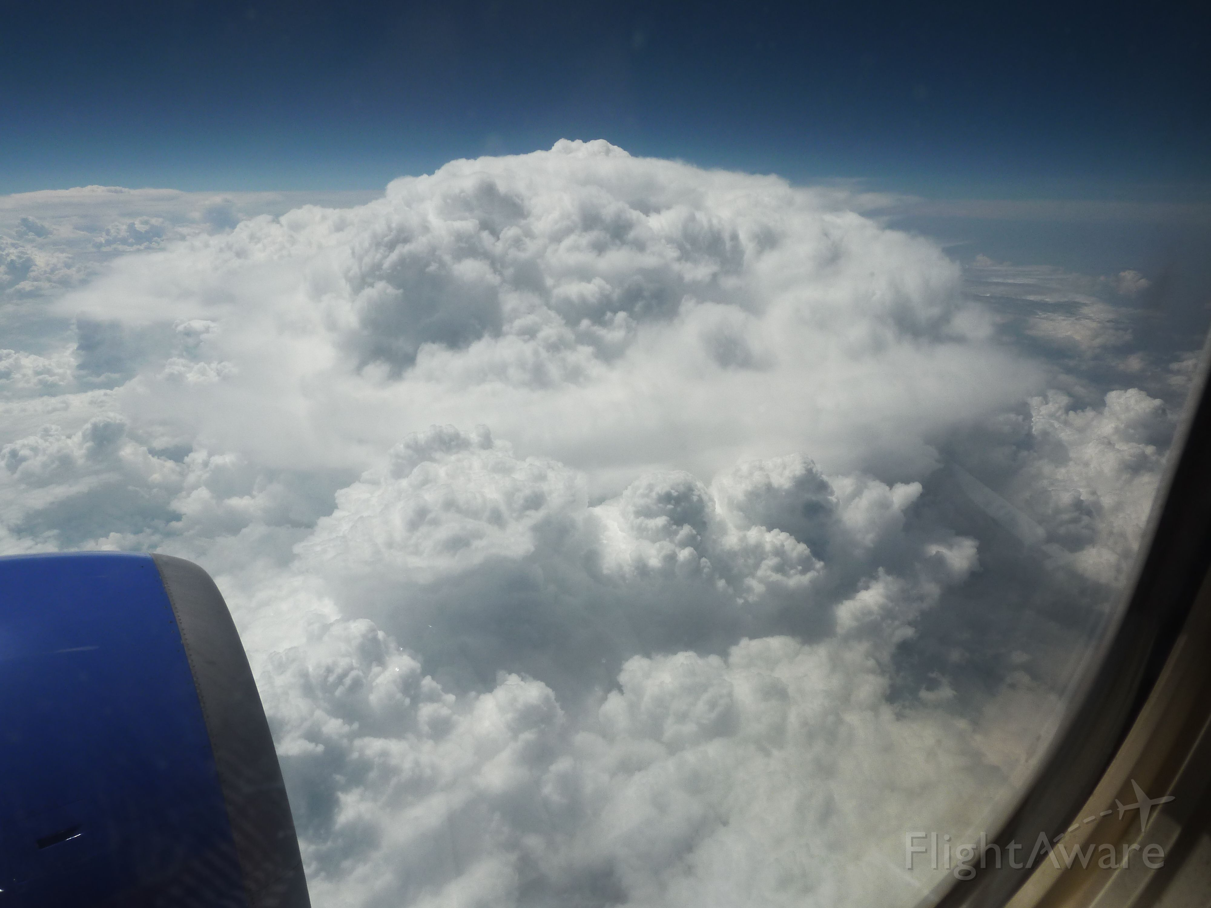 Boeing 737-700 — - Storm in development