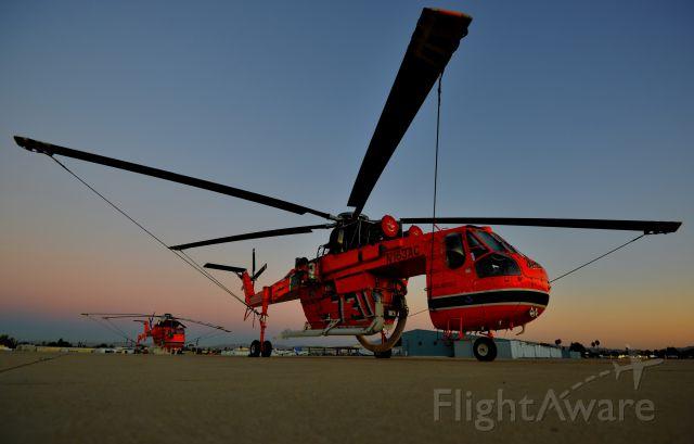 Sikorsky CH-54 Tarhe (N163AC) - Sky Crane Slumber  S-64F