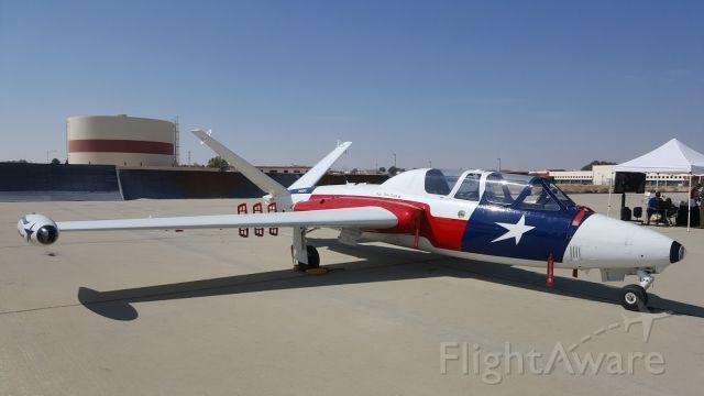 Aero L-29 Delfin (N450PS) - Fouga CM170 magister Edwards AFB  70th anniversary 13OCT17