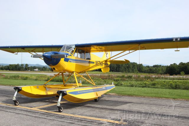 N117HW — - N117HW 2000 AVIAT AIRCRAFT INC A-1B KYLE M GLENMONT, NEW YORK<br />KDDH William H. Morse State Airport (Bennington, VT)<br />Photo taken by Christopher Wright