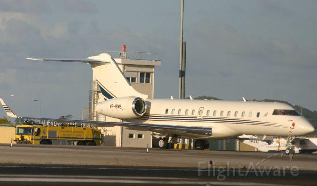 Bombardier Global 5000 (VP-BWB)