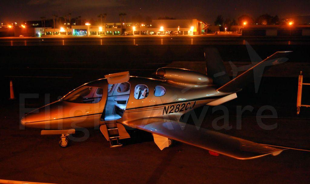 Cessna Citation CJ1 (N282CJ) - Cirrus Vision SF50