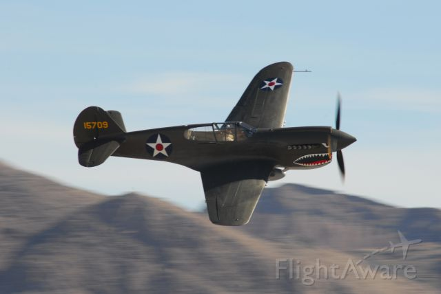 CURTISS Warhawk (N2416X) - Aviation Nation 2017