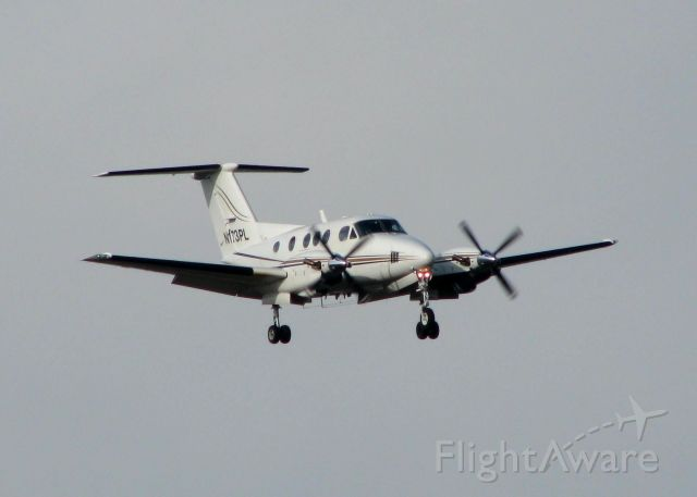 Beechcraft King Air F90 (N173PL) - Landing at Shreveport