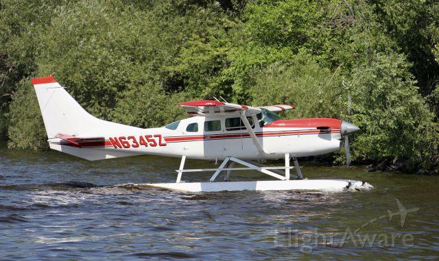 Cessna 206 Stationair (N6345Z) - Oshkosh Seaplane base