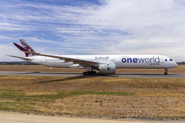 Airbus A350-1000 (A7-ANE) - Qatar Airways (A7-ANE) Airbus A350-1041 taxiing at Canberra Airport