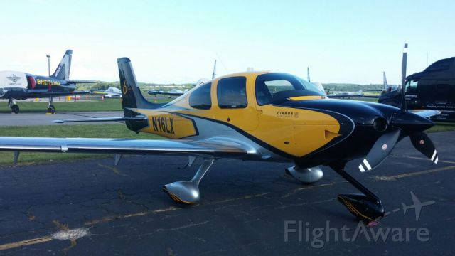 Cirrus SR-22 (N16LX) - The 6000th Cirrus built @ AOPAs Fly-in @ Fredrick Airport