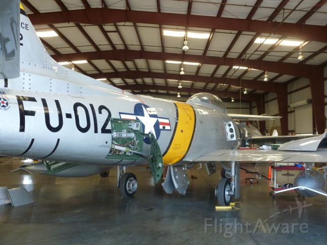 North American F-86 Sabre — - North American F-86 @ Planes of Fame, Chino, Ca.