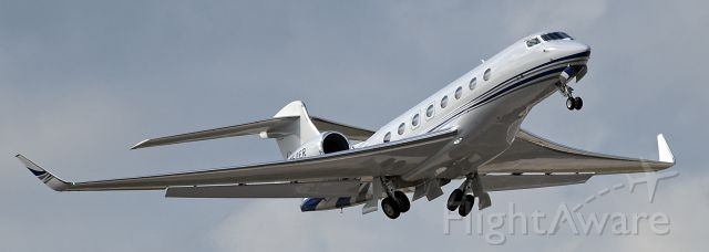 Gulfstream Aerospace Gulfstream G650 (N650ER)