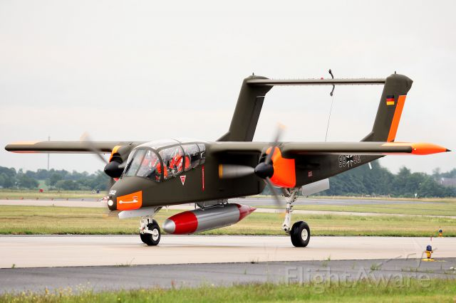 North American Rockwell OV-10 Bronco (G-BZGK) - Unfortunately this aircraft was wrecked at the 10th of july at Kemble Airport  (Kent). Pilot critically wounded into the hospital. Got this information from Spotting Group Maastricht in their monthly THRESHOLD of august 2012.