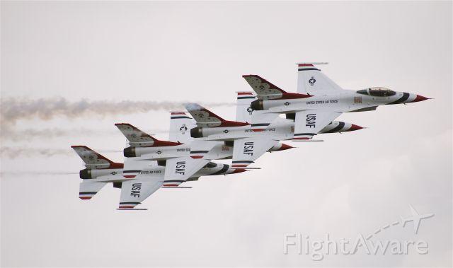 Lockheed F-16 Fighting Falcon (TBIRD1)