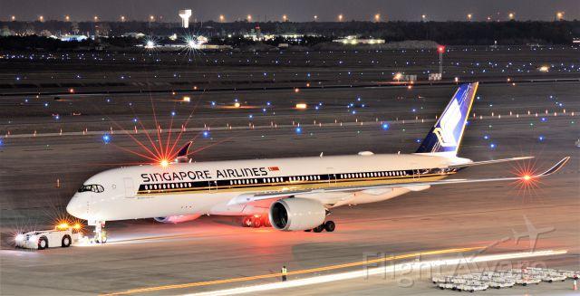Airbus A350-900 (9V-SMQ)