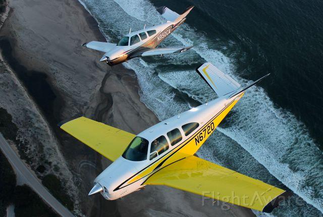 Beechcraft 35 Bonanza (N672D)