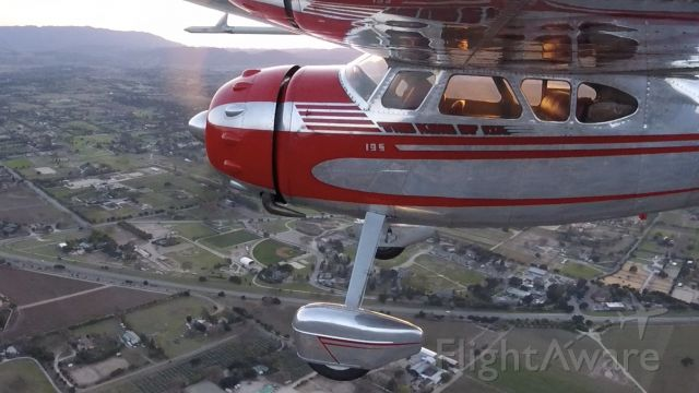 Cessna LC-126 (N3491V) - A nice Sunday afternoon over Los Olivos- Go Pro still