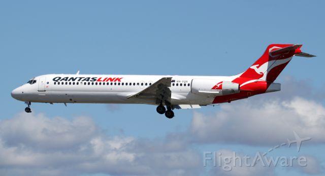 Boeing 717-200 (VH-YQX) - Short Final To Rwy 16R