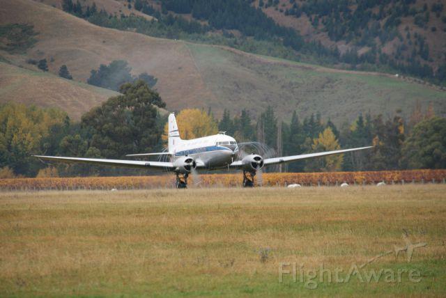Douglas DC-3 (ZK-DAK)