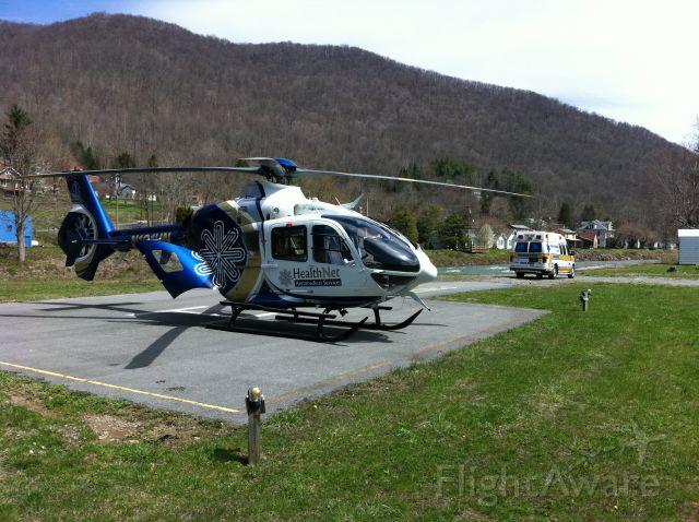 Eurocopter EC-635 (N101HN) - N101HN at Webster Springs WV